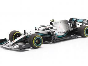 Valtteri Bottas Mercedes-AMG F1 W10 #77 Winner United States GP F1 2019 1:18 Minichamps