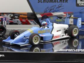 2-Car Set Michael & Mick Schumacher winner Macau F3 1990 & 2018 1:43 Minichamps