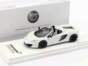 McLaren MP4-12C Spider LHD Year 2012 white 1:43 TrueScale