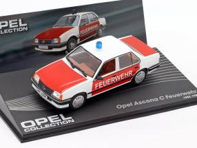 Opel Ascona C Fire department year 1982-1988 1:43 Altaya