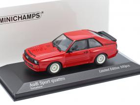 Audi Sport quattro year 1984 red 1:43 Minichamps