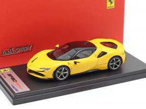 Ferrari SF90 Stradale year 2019 modena yellow 1:43 LookSmart
