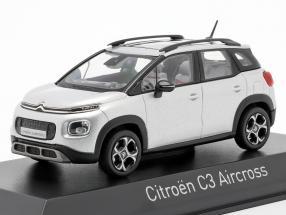 Citroen C3 Aircross year 2017 cosmic silver 1:43 Norev