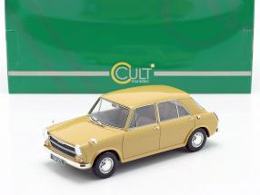 Austin 1100 year 1969 golden yellow 1:18 Cult Scale