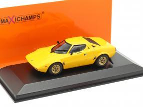 Lancia Stratos year 1974 yellow 1:43 Minichamps
