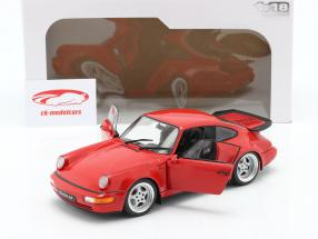 Porsche 911 (964) 3.6 Turbo year 1990 guards red 1:18 Solido