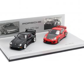 Porsche 911 GT2 RS Set 993 & 997 1:43 Minichamps