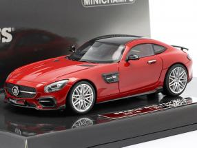 Brabus 600 GT S Year 2016 red 1:43 Minichamps