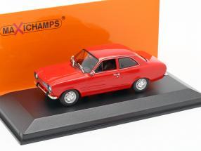 Ford Escort I LHD year 1974 red metallic 1:43 Minichamps