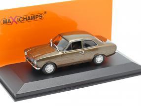 Ford Escort I LHD year 1974 brown metallic 1:43 Minichamps