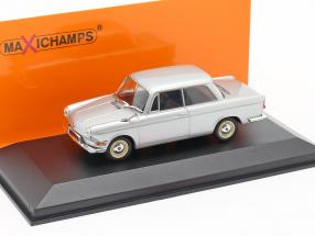 BMW 700 LS Construction year 1960 silver 1:43 Minichamps