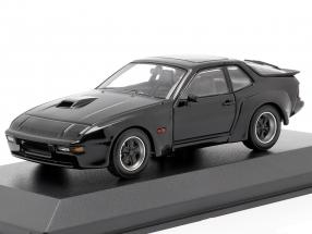 Porsche 924 GT year 1981 black 1:43 Minichamps
