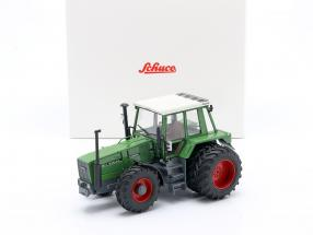Fendt Favorit 626 LSA tractor With Double tires 1981-1985 green 1:32 Schuco