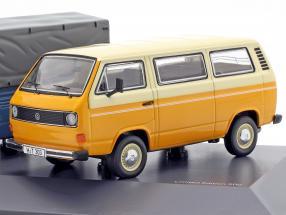 3-Car Set: 40 Years Volkswagen VW T3 Bus 1:43 Schuco