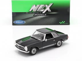Mercedes-Benz 230 SL (W113) Hardtop year 1963 black 1:24 Welly