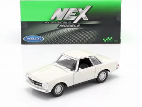Mercedes-Benz 230 SL (W113) Hardtop year 1963 white 1:24 Welly