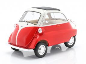 BMW Isetta 250 year 1959 red / white 1:18 Welly