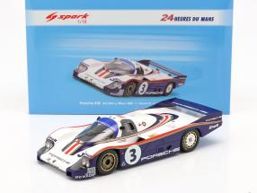 Porsche 956 #3 3rd 24h LeMans 1982 Holbert, Haywood, Barth 1:18 Spark