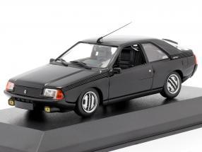Renault Fuego year 1984 black 1:43 Minichamps