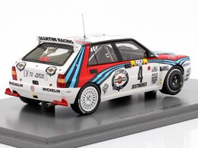 Lancia Delta HF Integrale #4 Winner Rallye Monte Carlo 1992 Auriol, Occelli