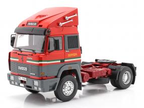 Iveco Turbo Star Scuderia Ferrari Truck year 1988 red 1:18 Road Kings