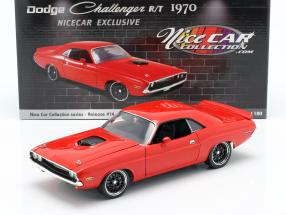 Dodge Challenger R/T Street Fighter year 1970 red / black 1:18 GMP