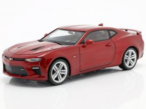 Chevrolet Camaro SS year 2016 red 1:18 AutoWorld