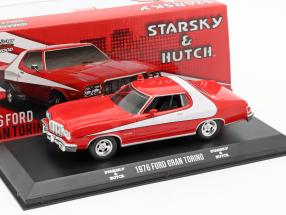 Ford Gran Torino TV-Serie Starsky and Hutch 1975-79 red / white 1:43 Greenlight