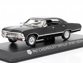 Chevrolet Impala Sport Sedan TV series Supernatural 2005 black 1:43 Greenlight