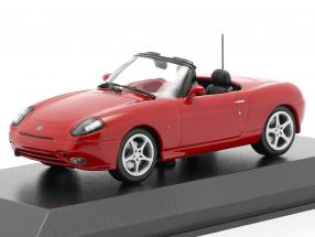 Fiat Barchetta year 1995 red 1:43 Minichamps