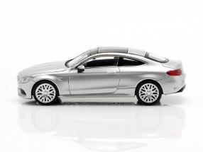Mercedes-Benz AMG C63 Coupe year 2019 iridium silver metallic