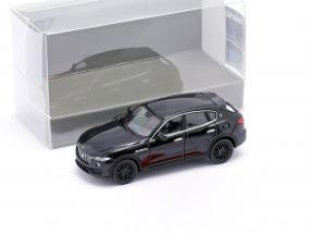 Maserati Levante year 2018 black 1:87 Minichamps