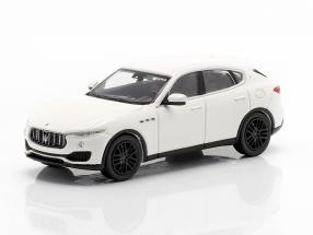 Maserati Levante year 2018 white 1:87 Minichamps