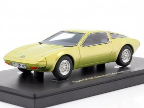 Opel GT/W Geneve Concept Car 1975 yellow metallic 1:43 AutoCult