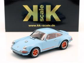 Singer Coupe Porsche 911 Modification gulf blue / orange 1:18 KK-Scale