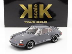 Singer Coupe Porsche 911 Modification dark grey 1:18 KK-Scale