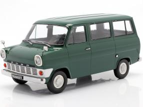 Ford Transit MK1 bus year 1965 dark green 1:18 KK-Scale