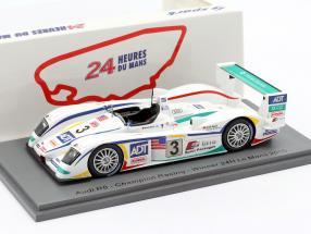 Audi R8 #3 Winner 24h LeMans 2005 Lehto, Werner, Kristensen 1:43 Spark