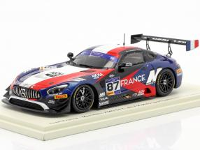 Mercedes-Benz AMG GT3 #87 4th FIA Motorsport Games GT Cup 2019 1:43 Spark