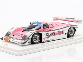 Porsche 962C #9 1000km Fuji 1989 Wollek, Jelinski 1:43 Spark
