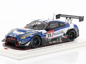 Nissan GT-R Nismo GT3 #39 24h Nürburgring 2019 KCMG 1:43 Spark