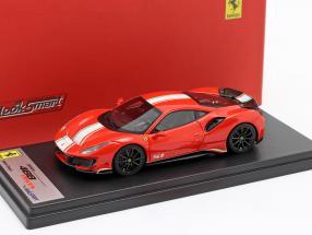 Ferrari 488 Pista Piloti #51 year 2018 scuderia red 1:43 Looksmart