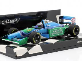 J. Verstappen Benetton B194 #6 Belgium GP formula 1 1994 1:43 Minichamps