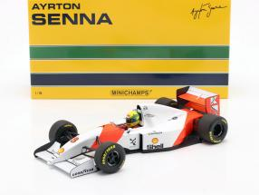 Ayrton Senna McLaren MP4/8 #8 Winner Japan GP formula 1 1993 1:18 Minichamps