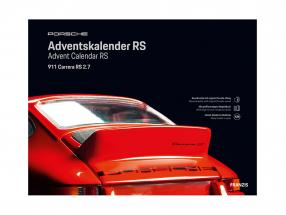 Porsche RS advent Calendar 2020: Porsche 911 Carrera RS 2.7 1:24 Franzis