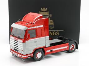 Scania 143 Streamline Truck 1995 red / white / gray 1:18 Road Kings