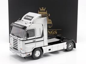 Scania 143 Streamline Truck year 1995 silver / black 1:18 Road Kings