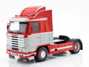 Scania 143 Streamline Truck year 1992 red / white / light grey 1:18 Road Kings
