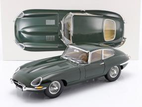 Jaguar E-Type Coupe year 1961 green 1:12 Norev