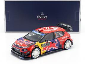 Citroen C3 WRC #1 Winner Rally Monte Carlo 2019 Ogier, Ingrassia 1:18 Norev